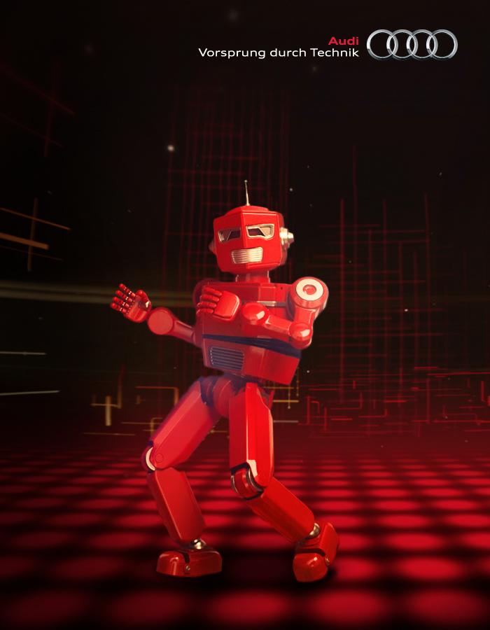 Audi e-tron robot