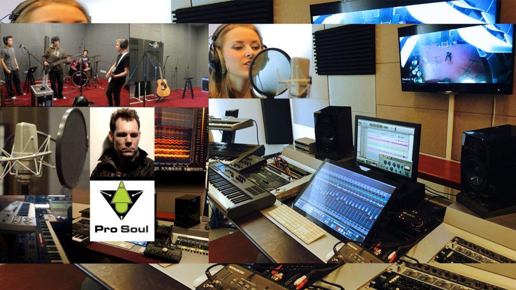Pro Soul Studios, audio production, recording, dubbing and sound design
