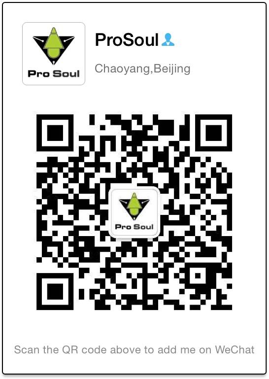 Pro Soul company wechat acount QR code