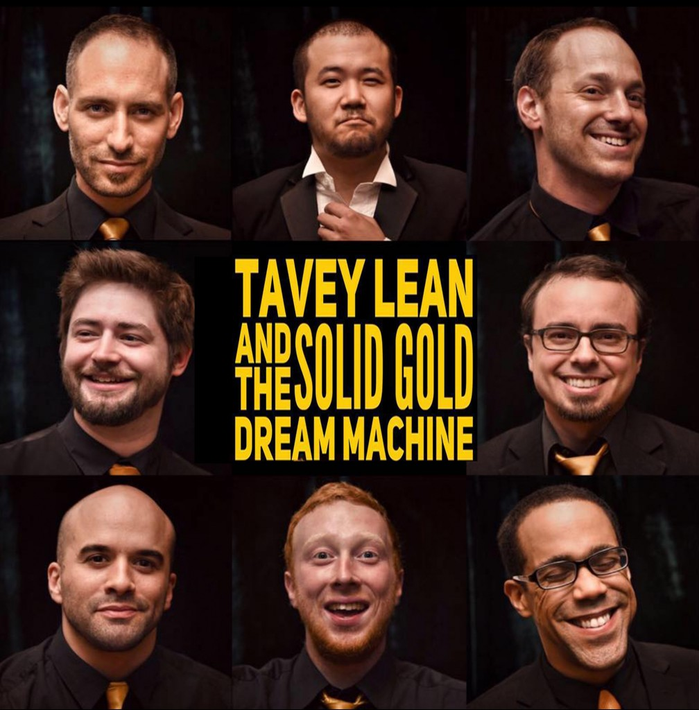 Tavey Lean and The Solid Gold Dream Machine band Beijing