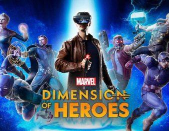 Disnet Marvel AR game Dimension of Heroes Lenovo