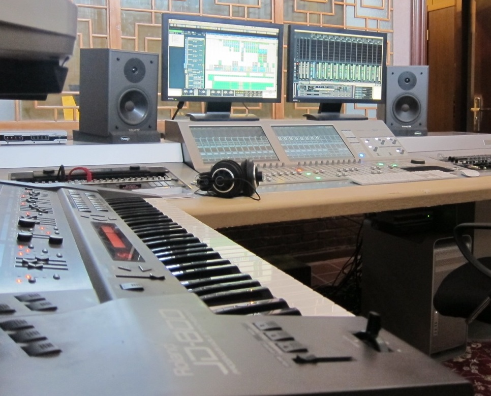 together with Single person 2 furthermore Digital Music Production likewise Watch as well Why I Am Sceptical About Recording Lectures. on basic recording studio